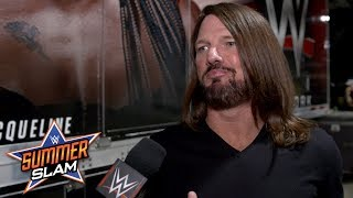 Is AJ Styles confident he will retain his WWE Championship?: Exclusive, Aug. 19, 2018