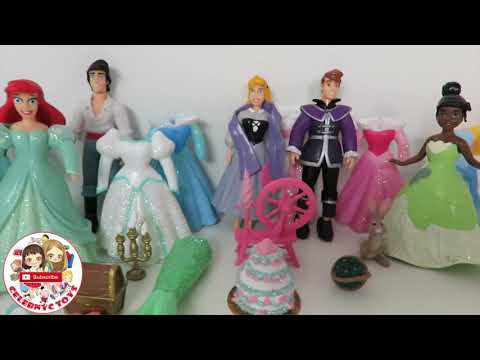 HUGE POLLY POCKET Disney Princess Deluxe Fashion Sets - Cind