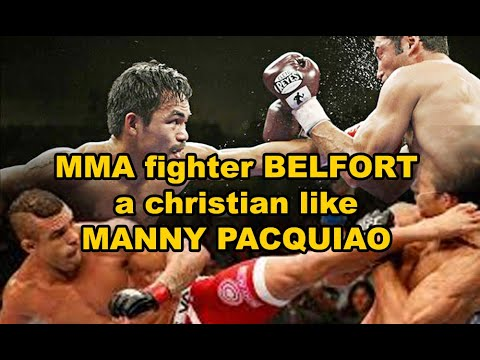 Vítor Belfort a Christian MMA fighter like Manny Pacquiao