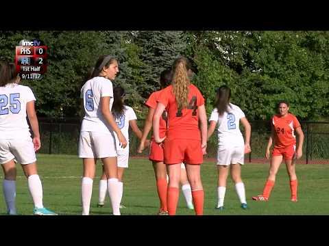 LMC Varsity Sports - Girls Soccer - Pawling at Rye Neck - 9/11/17