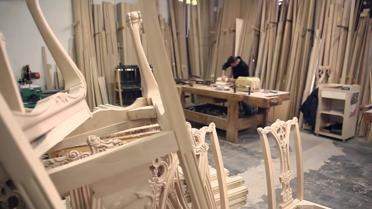 Manufacturing Of Luxury Classic Furniture Youtube