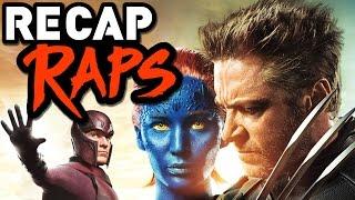 THE X-MEN MOVIE TIMELINE - RECAP RAP