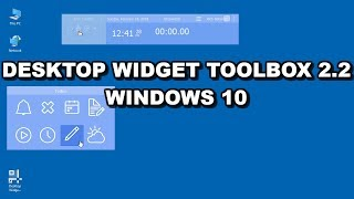Free Desktop Widget Toolbox for Windows 10 in 2018 Installation Guide and Review