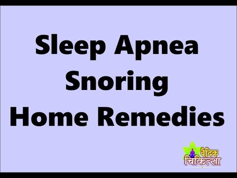 sleep apnea, How To Stop Storing Naturally home remedy Abhishek Bansal