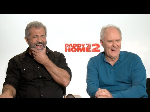 DADDY'S HOME 2 Interviews: Wahlberg, Ferrell, Gibson, Lithgow and Cena