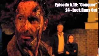 The Walking Dead - Season 5 OST - 5.16 - 24: Luck Runs Out