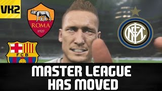 Pes master league has moved to vapex karma