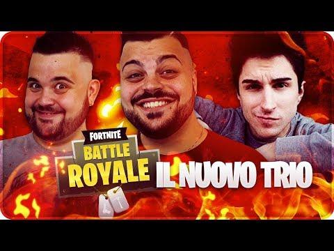 HIT IMPORTANTI CON IL NUOVO TRIO VENIT SU FORTNITE !!! w/CiccioGamer89 & Anima