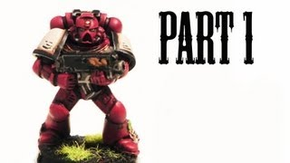 How to paint Blood Ravens Space Marines pt.1