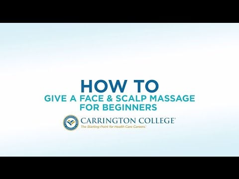 Easy-to-Learn Massage Techniques for the Face & Scalp