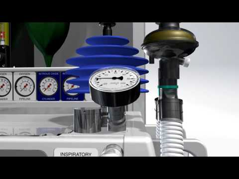 Animation Of The Universal Anaesthesia Machine And Ventilator