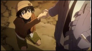 Mirai Nikki - Akise's confession to Yukiteru ?! (crossover Evangelion)