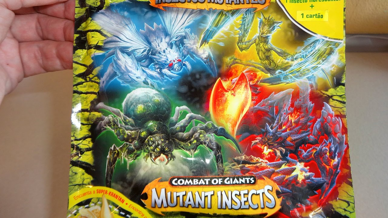 Combat Of Giants Mutant Insects Surprise Blind Bags