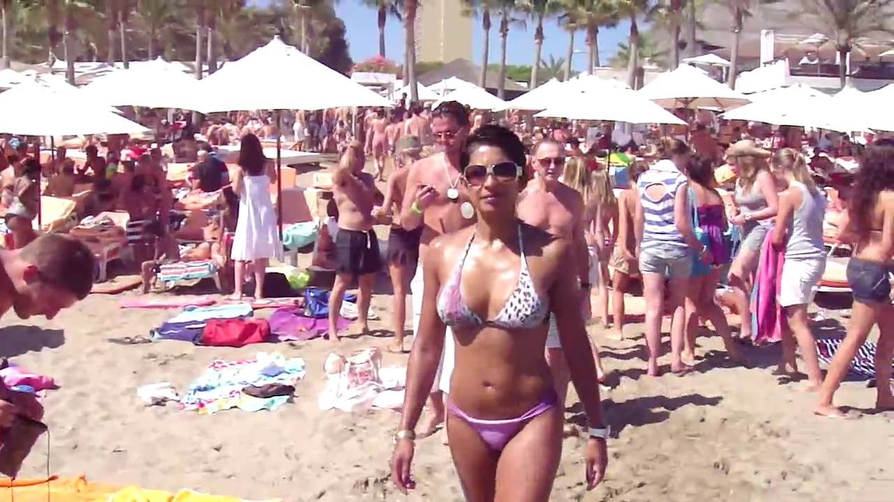 Are absolutely Hot naked spanish girl on beach happens