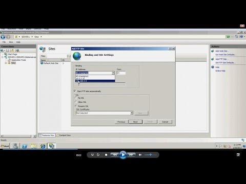 Server 2008 - FTP Server Installation And Configuration In Windows Server 2008 R2