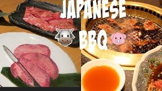 Japanese BBQ: Eating Cow Tongue