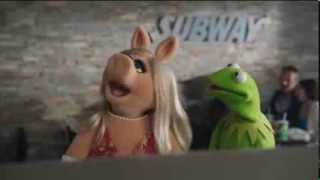TV Spot - Subway - Featuring The Muppets & Jared Fogel - Miss Piggy Gets Her Way - Eat Fresh