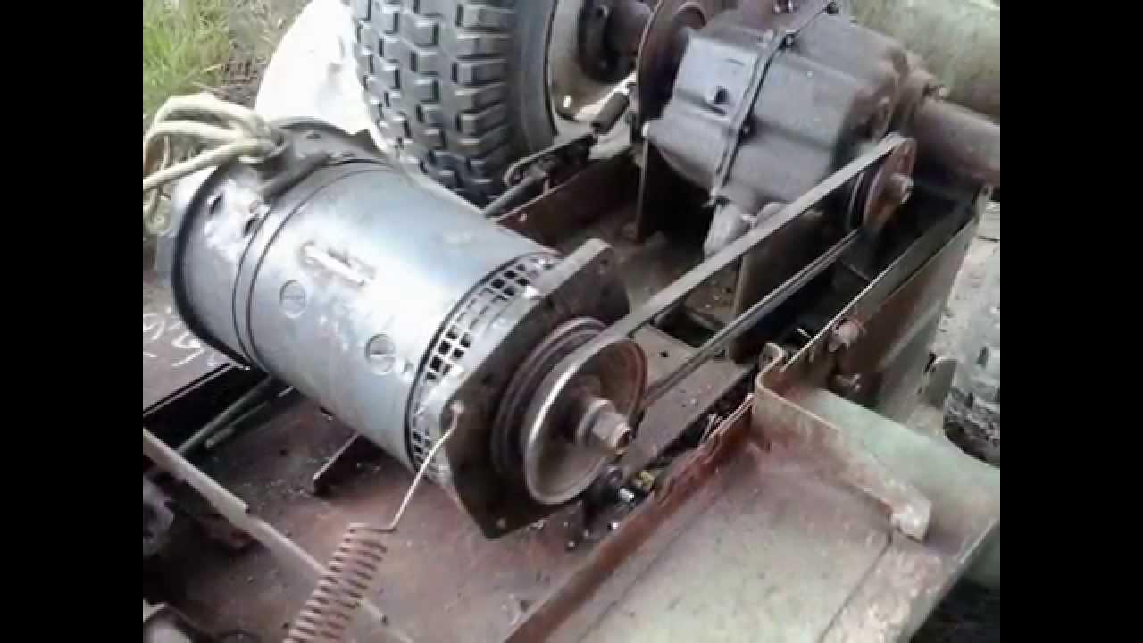 How Build 4x4 Garden Tractor