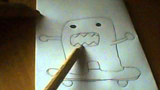 How to draw: Domo