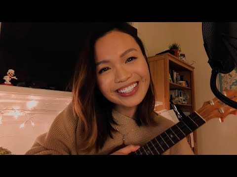 the moon represents my heart  ☾ 月亮代表我的心 (uke + lyrics!)