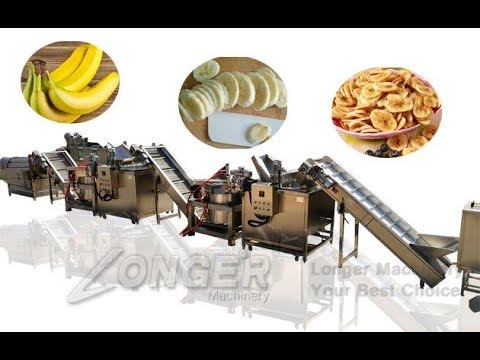 Automatic Plantain Chips Production Line|Equipment For Banana Chips WhatsApp +8618537181190
