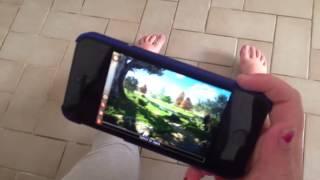 Jouer avec l iPhone 5 sur la Tv sans fil