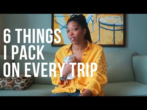 6 Travel Essentials | Things I Always Pack On Trips