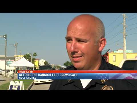 Hangout Fest emergency responders putting safety plan into action - NBC 15 WPMI