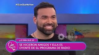 Raúl es venezolano y se enamoró de una joven que lo ayudó en el aeropuerto