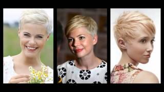 Nagyon rövid női frizurák