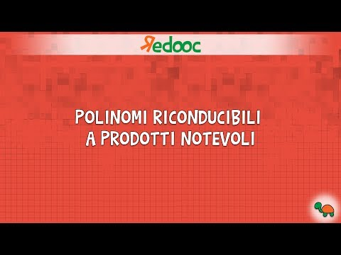 scomposizioni con prodotti notevoli from YouTube · Duration:  8 minutes 8 seconds