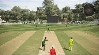 Pakistan VS Australia Gameplay with Ashes Cricket | CWC19 | PAK VS AUS | PC Game