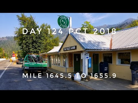 Day 124 PCT 2018 thruhike mile 1649.5 to 1655.9