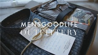 Outfittery Unboxing - Mensgoodlife
