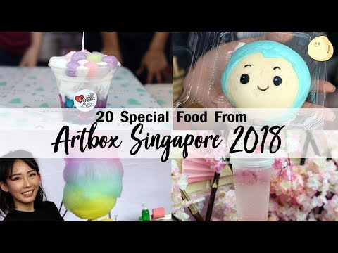 Artbox Singapore 2018 - 20+ Special Food From Singapore's Largest Creative Market