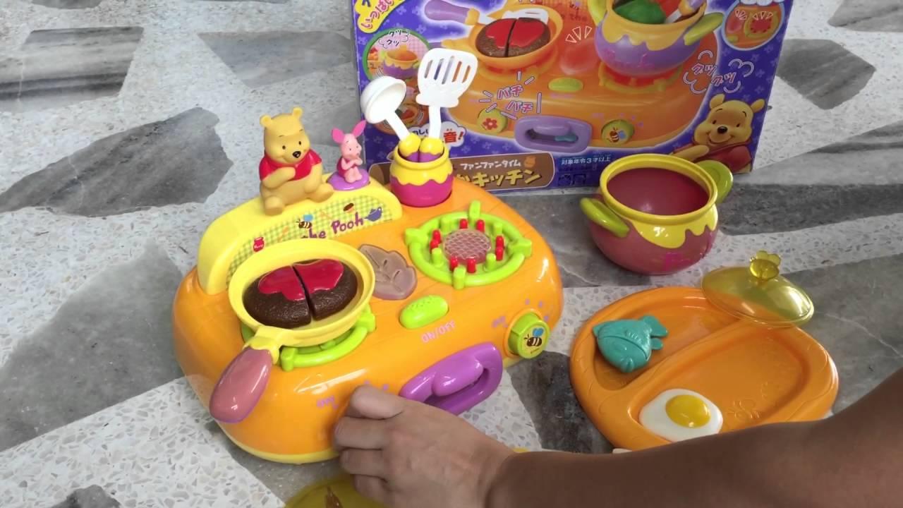 Review Tomy Pooh Kitchen Disney Youtube