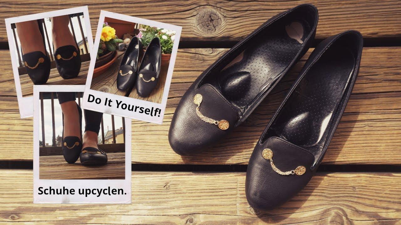 Schuh upcycling | DIY | Ich hab meine Schuhe verschönert