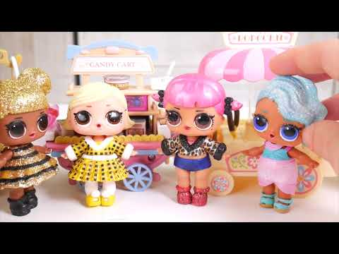 Masquerade Family DIY LOL Family Custom Fun Craft With Barbie and Food