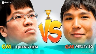 Liem Quang Le (VIE) vs Wesley So  (USA)  | Banter Series FINAL | Semifinal