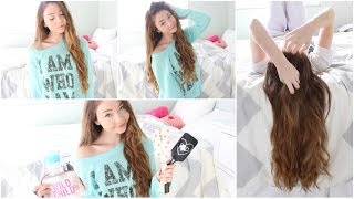 Hair Routine & Easy DIY hair products!