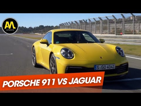 Duel : Porsche 911 type 992 vs Jaguar F-Type SVR !