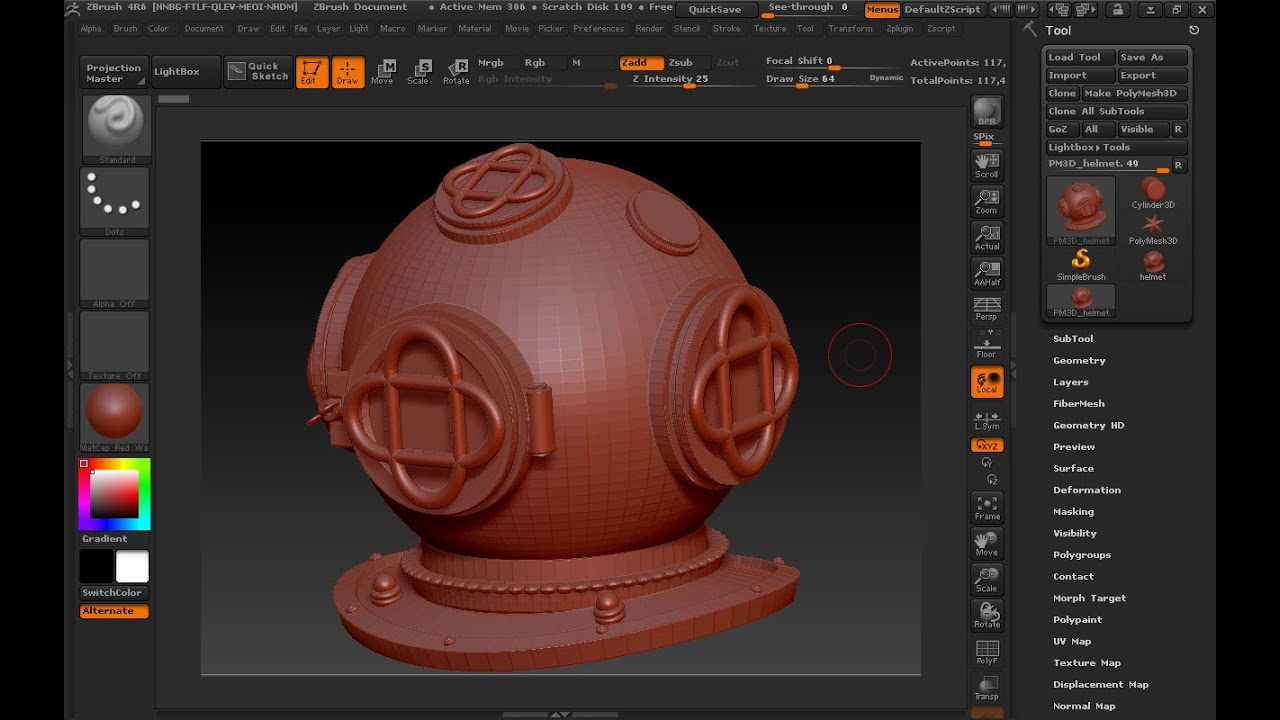 Maya 2014 tutorial : Export a file from Maya to ZBrush