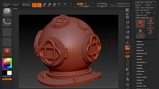 Maya 2014 tutorial : Export a file from Maya to ZBrush