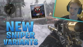 NEW SNIPER VARIANTS FROM RESISTANCE UPDATE!!! WW2