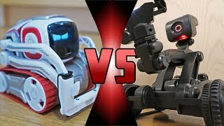 ROBOT DEATH BATTLE   Cozmo VS MEBO 2.0   ROBOT BATTLEBOTS WARS
