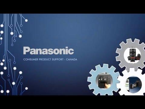 Panasonic Canada Help YouTube Channel Welcome Video