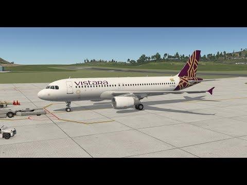 [X-PLANE 11] Flight Factor A320 Ultimate | Port Blair (VOPB) ✈ Kolkata  (VECC) | VTI778