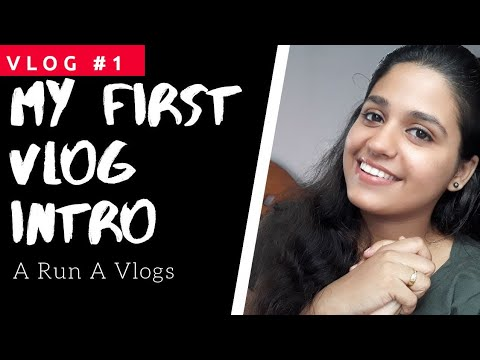 My Intro  | A Run A Vlogs | Vlog #1