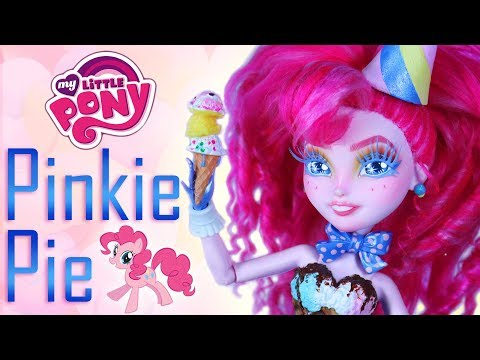 Custom Pinkie Pie Doll  [ MY LITTLE PONY OOAK ]