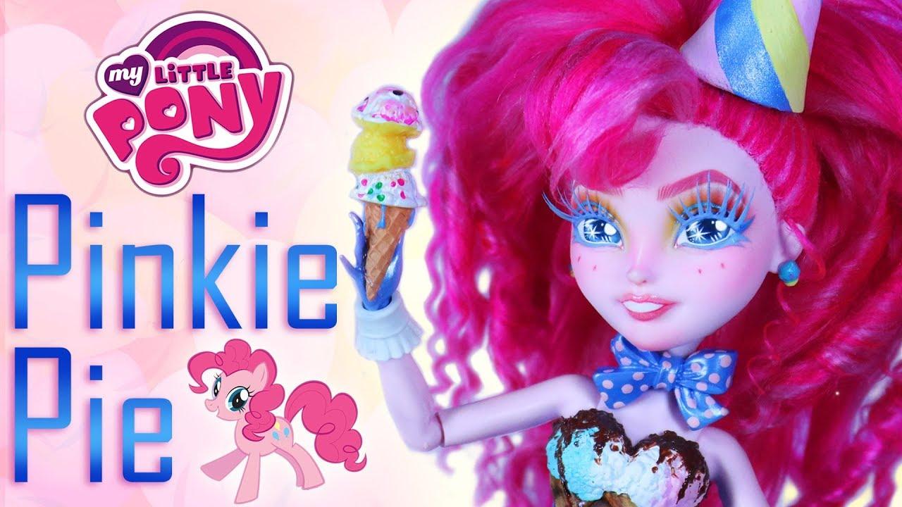 Custom Pinkie Pie Doll  [ MY LITTLE PONY OOAK ]